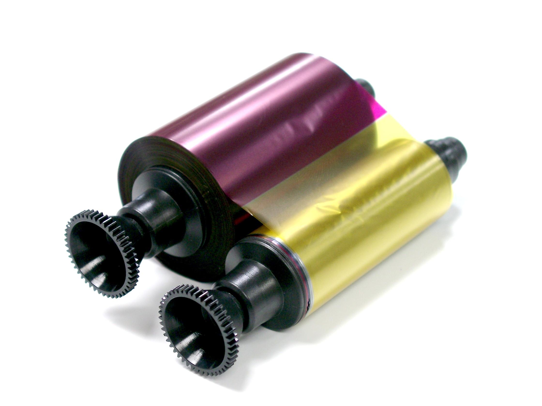 R3011 Full Color Strip YMCKO Compatible for Evolis Pebble Dualys /& Securion