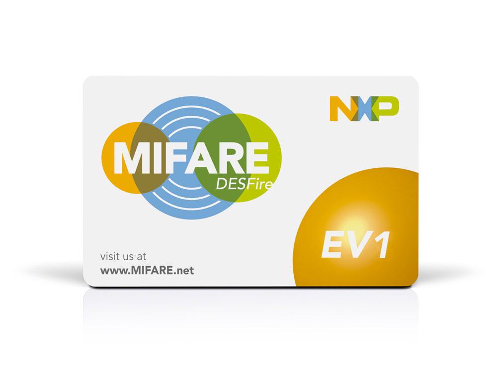 RFID Chip Cards MIFARE DESFire EV1 4K 17 pF