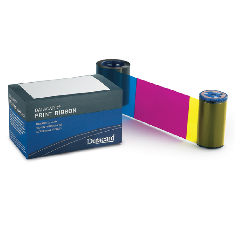Datacard Ribbon Kit YMCKT 534700-001