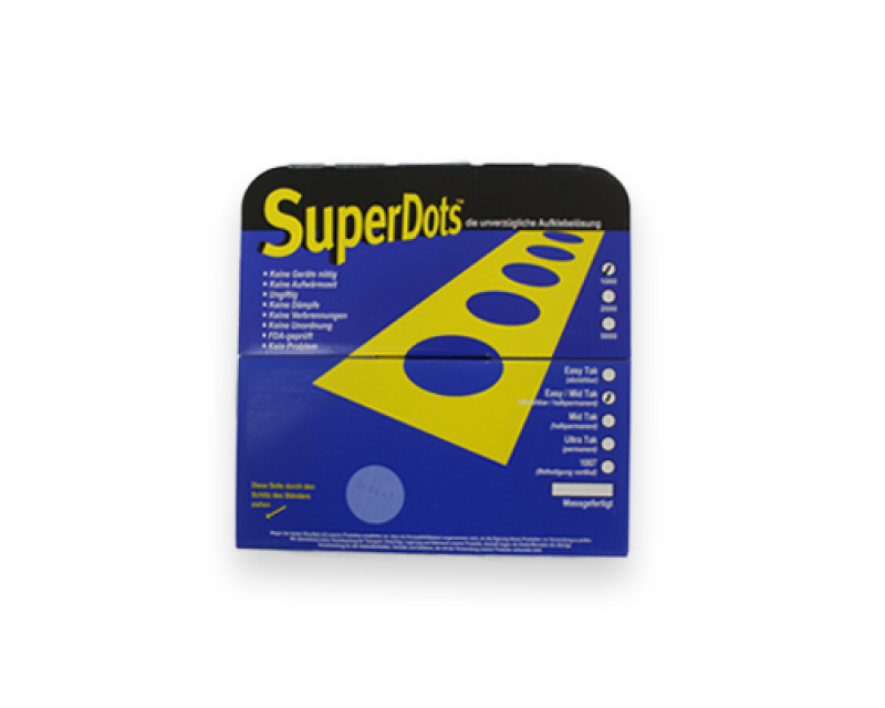 "5.000 Glue dots ""Superdots"" for card mailing"