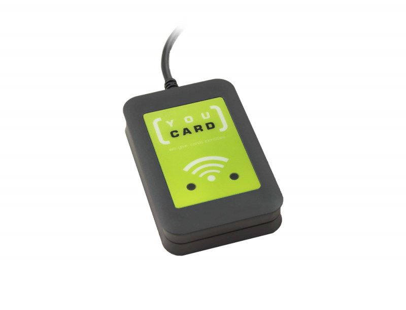 Elatec TWN4 MultiTech 2 LF RFID Card Reader YouCard Edition