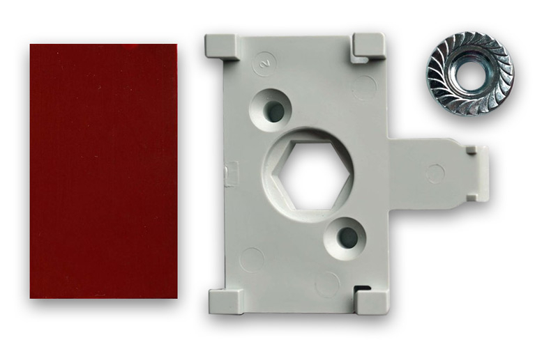 HID Omnikey Card Reader Mounting Kit