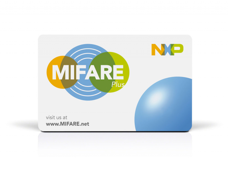 RFID Chipkarte MIFARE Plus S 2K