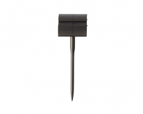 Price Tag Holder With Spike Black