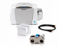 HID FARGO C50 ID Card Printer Bundle