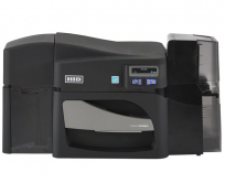 HID FARGO DTC4500e ID Card Printer Dual