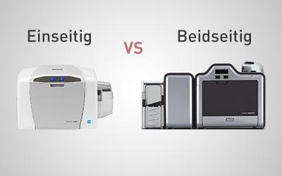 Einseitige vs beidseitige Kartendrucker